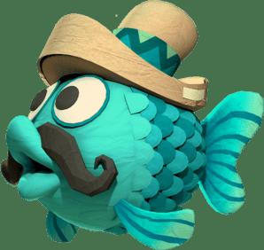 Die Illustration aus Golden Fishtank Game im besten Online Casino