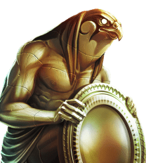 Ancient Civilisation Video Slots - Coins Of Egypt Ruby Eagle