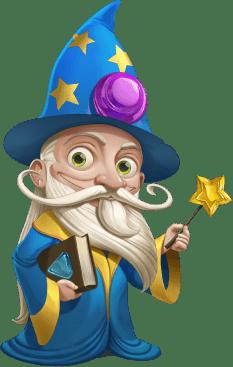 Magic Video Slots - Wizard of Gems