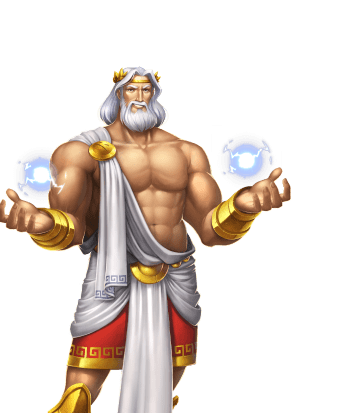 Mythical and Legend Video Slots - Rise of Olympus Zeus